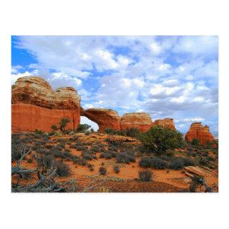 Voûte cassée, voûtes parc national, Utah Carte Postale