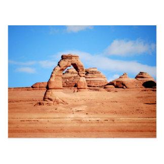 Voûte sensible, voûtes, Utah, carte postale