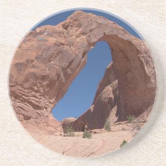 Voûte Utah de couronne Dessous De Verre En Grès