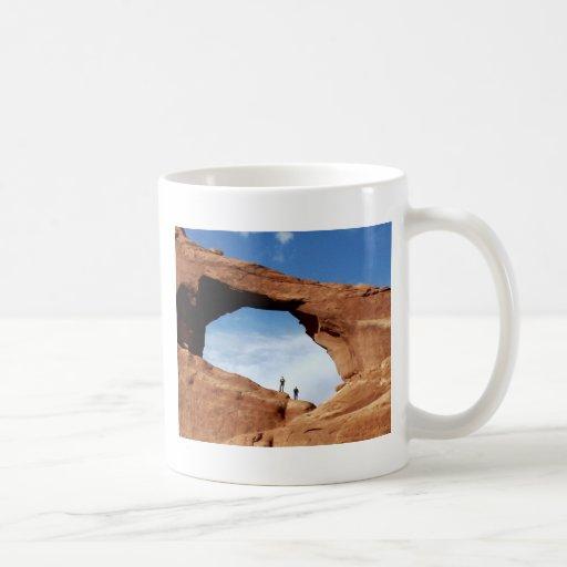 Voyage à travers le monde tasse à café