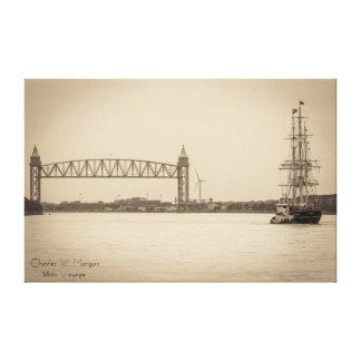 Voyage de Charles W. Morgan trente-huitième Toiles