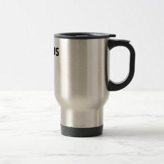 Voyage de foyer/tasse de banlieusard mug de voyage en acier inoxydable