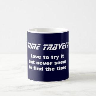 Voyage de temps tasse à café