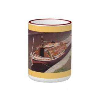 Voyage en le bateau étroit tasse à café