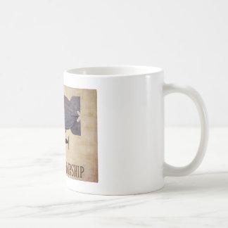 Voyage en le dirigeable mug blanc