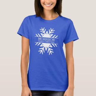 Voyage fait sur commande de la Réunion de Noël de T-shirt