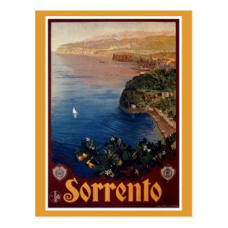 Voyage italien de Sorrente des années 1920 Carte Postale