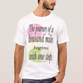 Voyage mille milles t-shirt