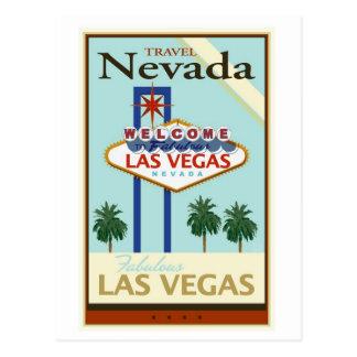 Voyage Nevada Carte Postale