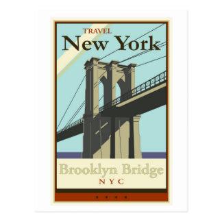 Voyage New York Carte Postale