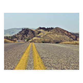 Voyage par la route du Colorado Carte Postale