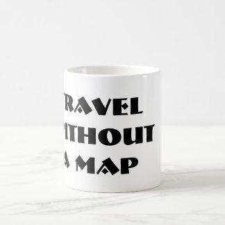 Voyage sans tasse de carte