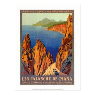 Voyage vintage Corse - Carte Postale