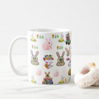 voyageur de tasse de thé de café de Pâques