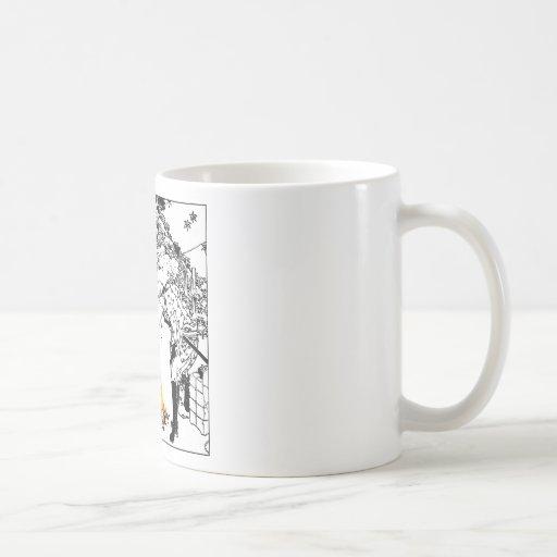 Voyageurs de Hokusai Tasses