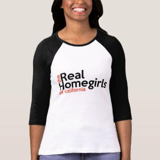 Vrais Homegirls du T-shirt des femmes de la