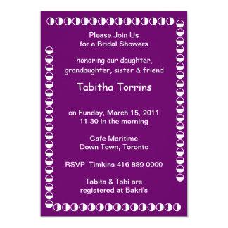 Vrijgezellenfeest TABITHA TORRINS 12,7x17,8 Uitnodiging Kaart