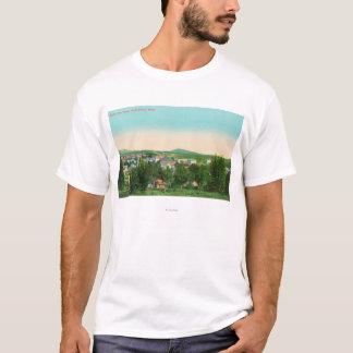 Vue aérienne de la ville 9 t-shirt