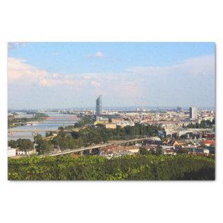 Vue au-dessus de Vienne Papier Mousseline