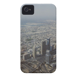 Vue de Burj Khalifa, Dubaï Coque iPhone 4
