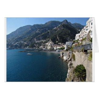 Vue de côte d'Amalfi Carte
