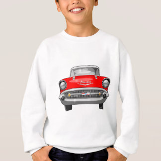 Vue de face 1957 de Chevy Sweatshirt