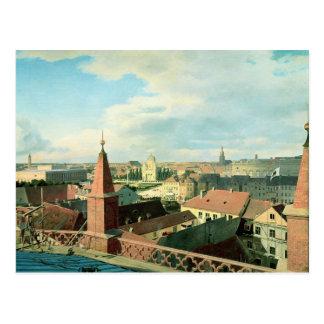 Vue de la ville de Berlin avec le musée d'Altes Carte Postale