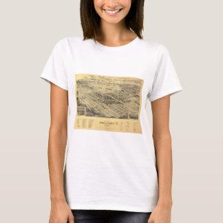 Vue de la ville de Yakima du nord Washington T-shirt