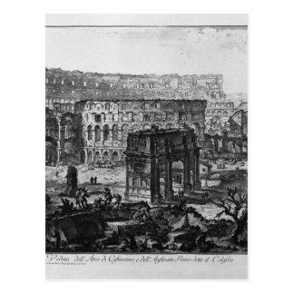 Vue de la voûte de Constantine et du Flavian Carte Postale