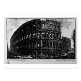 Vue de l'amphithéâtre de Flavian Carte Postale