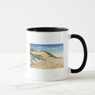 Vue des dunes de sable de Cape Cod Mug
