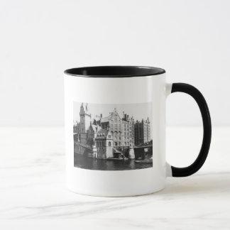 Vue du Speicherstadt Hambourg, c.1910 Mug