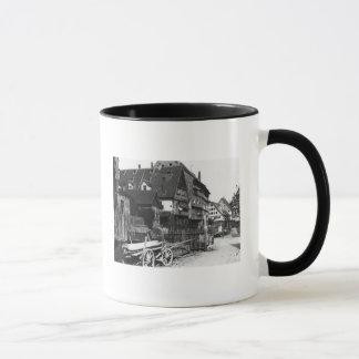 Vue du vieux quart, Ulm, c.1910 Mug