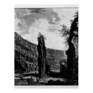 Vue intérieure de l'amphithéâtre de Flavian Carte Postale