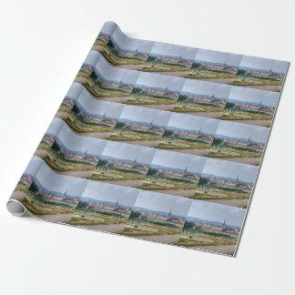 Vue panoramique au-dessus de Vienne Autriche de Papier Cadeau
