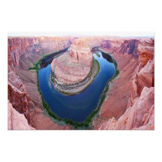 Vue supérieure de l'Arizona de courbure en fer à Impression Photo