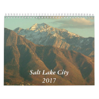 Vues de Salt Lake City - 2017 Calendrier Mural