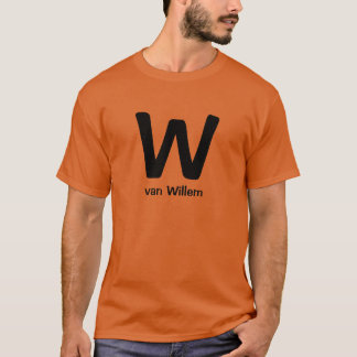 W van Willem t-shirt