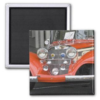 WA, Seattle, automobile allemande classique. 2 Magnet Carré