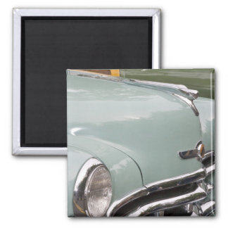 WA, Seattle, automobile américaine classique. 3 Magnet Carré
