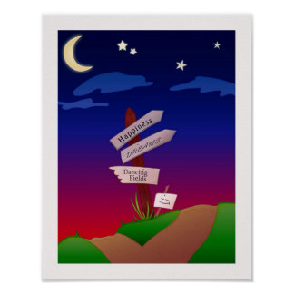 Waar het Leven u leidt Poster