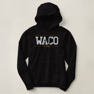 Waco le Texas Etats-Unis a brodé des sweat -