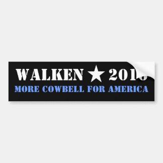 WALKEN 2016 PLUS DE SONNAILLE AUTOCOLLANT DE VOITURE