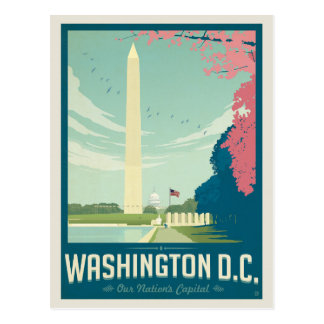 Washington, C.C - le capital de notre nation Carte Postale