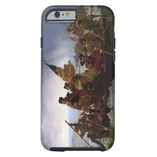 Washington croisant le Delaware par Emanuel Leutze Coque iPhone 6 Tough