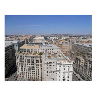 Washington DC de la vieille tour 001 de bureau de Carte Postale