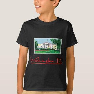 Washington DC - noir de cool de la Maison Blanche T-shirt