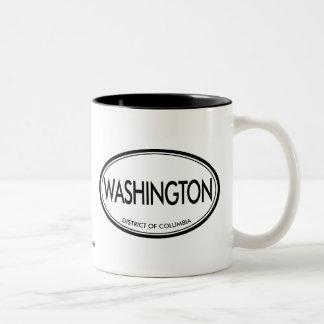 Washington, District de Columbia Tasse 2 Couleurs