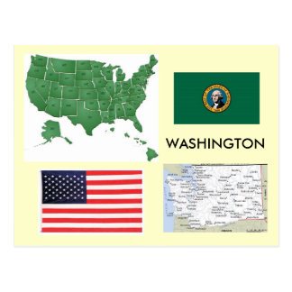 Washington, Etats-Unis Carte Postale