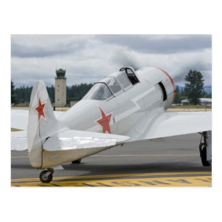 Washington, Olympia, militaire airshow. 6 Briefkaart